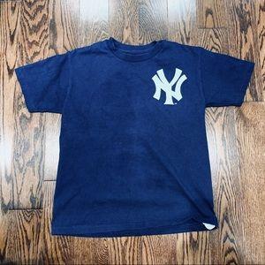 {Majestic} Yankee Derek Jeter T-shirt, S